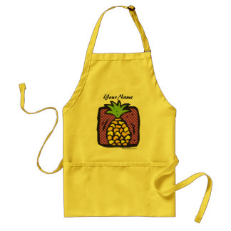 Fresh Pineapple. Adult Apron