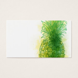 Fresh Pineapple Business Card