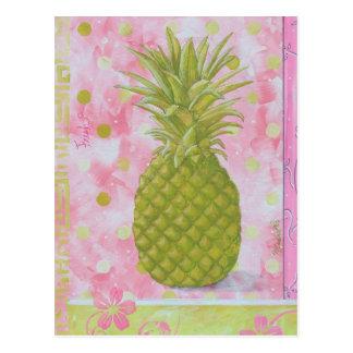 Fresh Pineapple Postcard