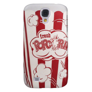 Fresh Popcorn Bag red Vintage Samsung Galaxy S4 Cover
