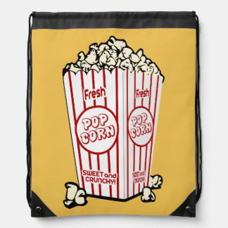 Fresh Popcorn Drawstring Bag