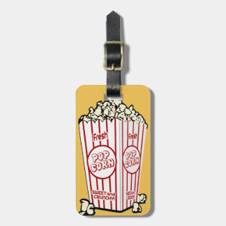 Fresh Popcorn Luggage Tag