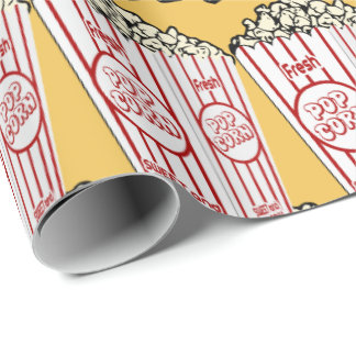 Fresh Popcorn Wrapping Paper