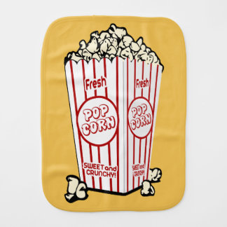 Fresh Popcorn Burp Cloth