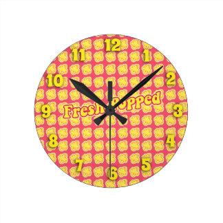 Fresh Popped Clock