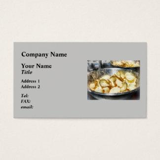 Fresh Potato Chips Business Card