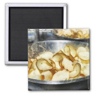 Fresh Potato Chips Magnets