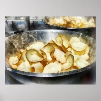 Fresh Potato Chips Poster