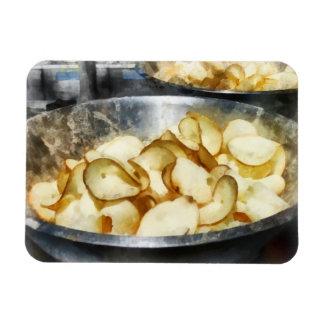 Fresh Potato Chips Vinyl Magnet