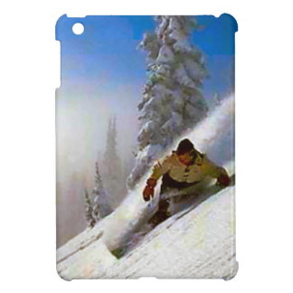 Fresh powder for surfdoarding near Mt Blanc range Cover For The iPad Mini