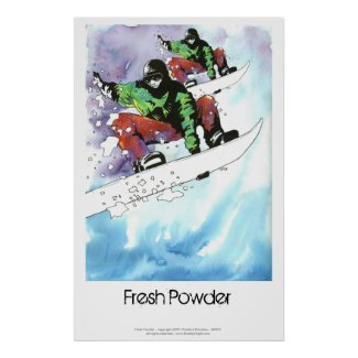 Fresh Powder Poster