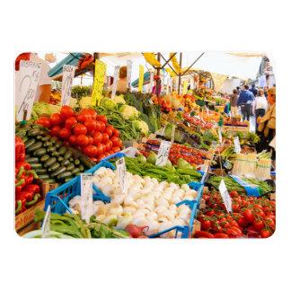 Fresh Produce at Farmers Market Card
