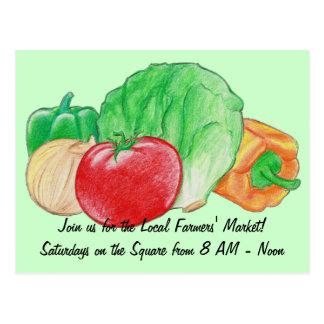 Fresh Produce Postcard