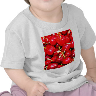 Fresh pure beauty cherry red fruit harvest seaon t-shirt