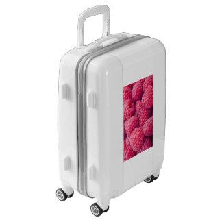 Fresh raspberries luggage