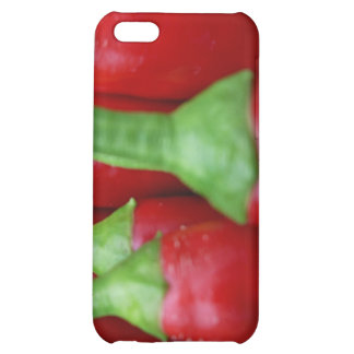 Fresh red hot chillies iPhone 5C cover