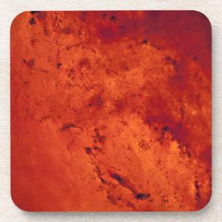 Fresh Red Hot Lava Coaster