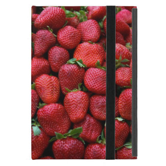 Fresh Red Strawberries Cover For iPad Mini