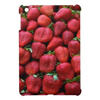 Fresh Red Strawberries iPad Mini Covers