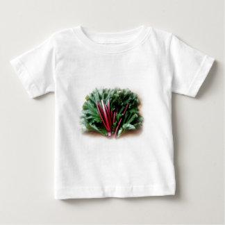 Fresh Rhubarb Stalks and Leaves Tee Shirt