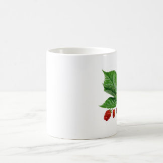 Fresh ripening bllackberries classic white coffee mug