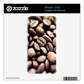 Fresh Roasted Coffee Beans Skin For The iPhone 4