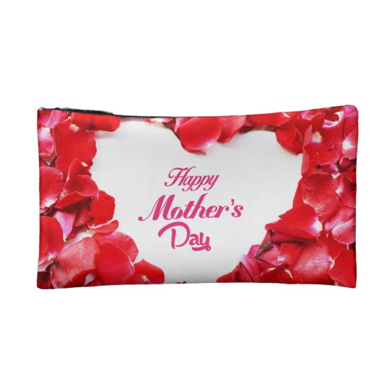 Fresh Rose Happy Mother's Day Small Cosmetic Bag