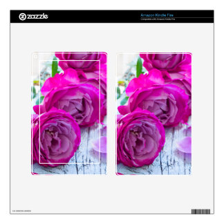fresh roses skin for kindle fire