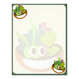 Fresh Salad Letterhead