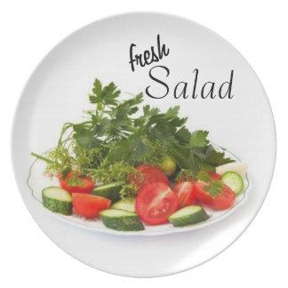 Fresh Salad Serving Plate