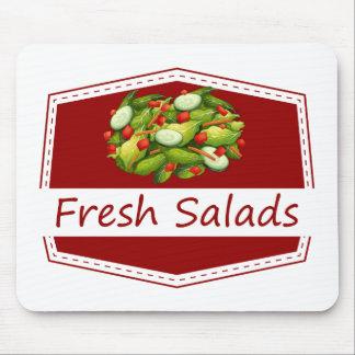 Fresh salads mouse pad