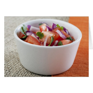 Fresh Salsa Greeting Card