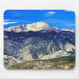 Fresh Snow and Sunshine Mouse Pad