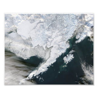 Fresh Snow in Bristol Bay Photo Print
