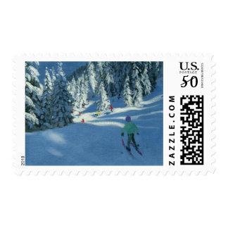 Fresh Snow Morzine France Postage
