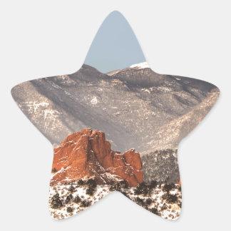 Fresh Snow Star Sticker