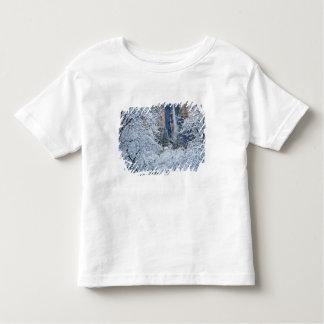 Fresh snowfall in the trees below Bridalveil Toddler T-shirt