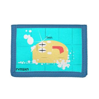 Fresh Soap Wallet! Trifold Wallet