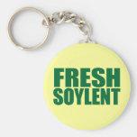 Fresh Soylent Keychains