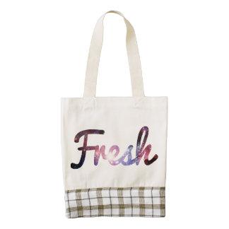Fresh space zazzle HEART tote bag