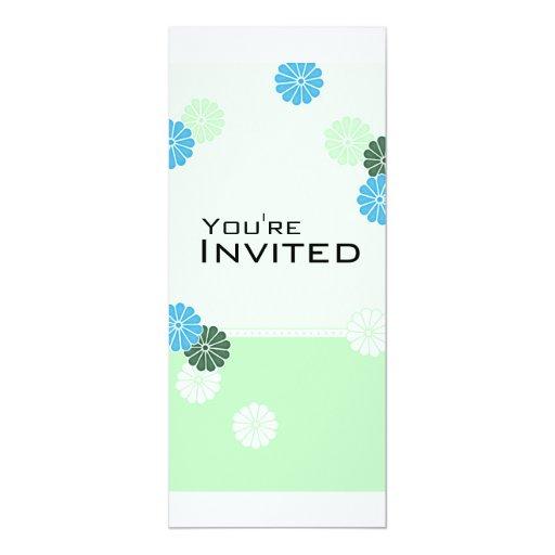 Fresh Spring - Customized Invitation
