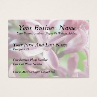 Fresh Spring Lilacs Business Card