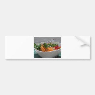 Fresh spring salad bumper sticker