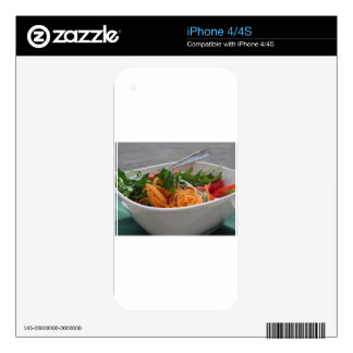 Fresh spring salad iPhone 4S skins
