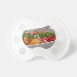Fresh spring salad pacifier