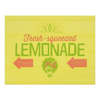 Fresh Squeezed Lemonade Posters