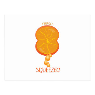 Fresh Squeezed Postcard