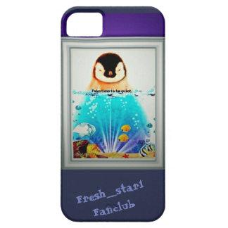Fresh_star1 Fanclub Quiet Penguin  IPhone cases