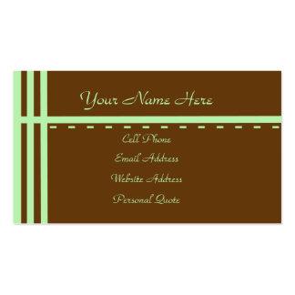Fresh Start Business Card Template 2