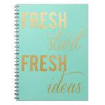 Fresh Start Notebook